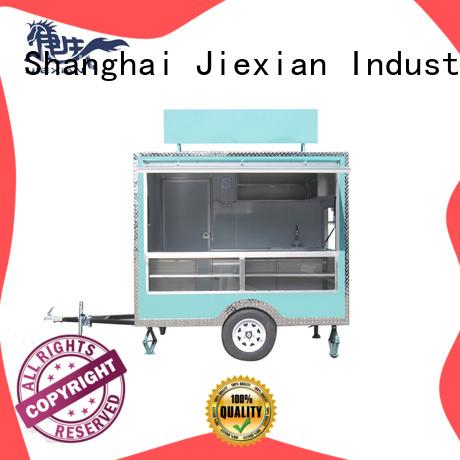 Jiexian fast food truck customization for bbq selling