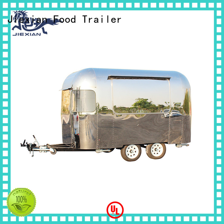 Jiexian custom pizza truck design for selling pizza