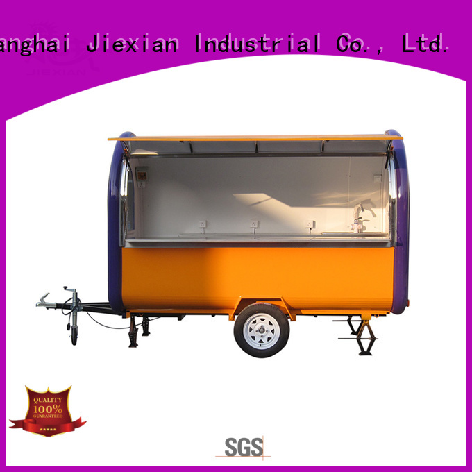 Jiexian oem concession trailers for sale in ohio bulk for trademan