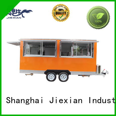 Jiexian custom concession trailers for mobile business