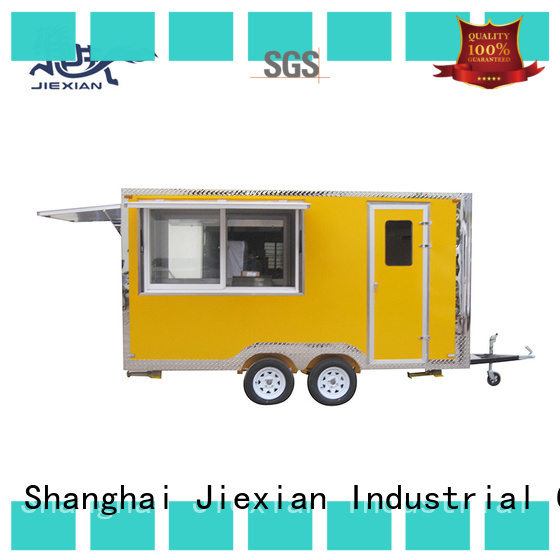 Good materials mobile food trailer China manufacturer for barbecue selling