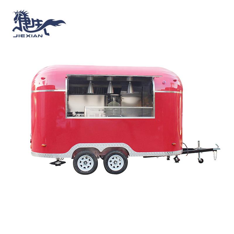 Mobile Burger Van Ice Cream Truck Food Vending Carts Jx-bt400g