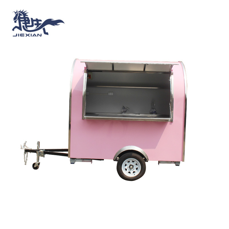 Concession Vending Trailer Ice cream fast food truck JX-FR220B