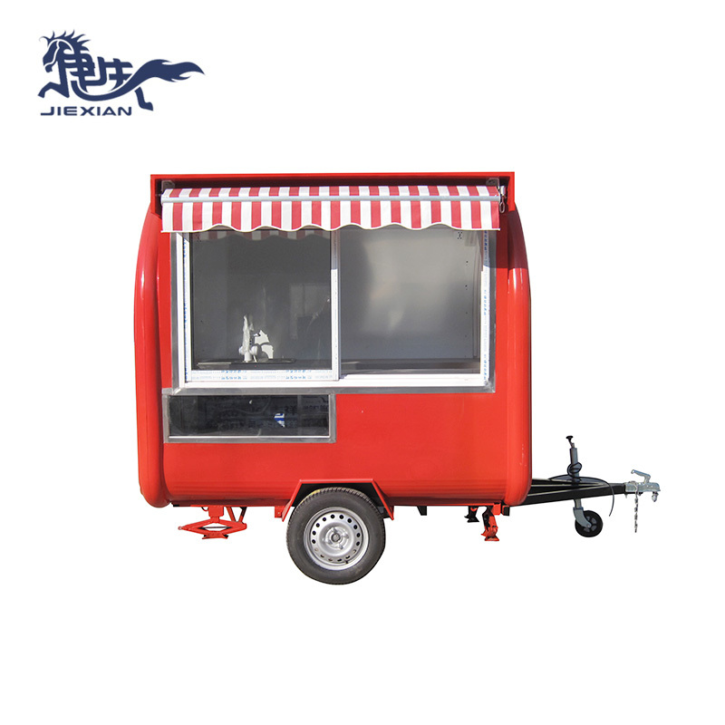 coffee food trailer Concession Stand Food Trailer JX-FR220H