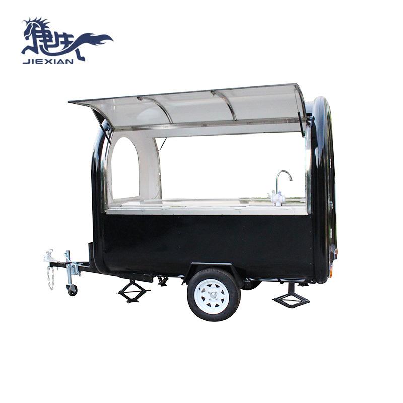 Roll Fried Ice Cream Machine Food Cart Fast Food Truck JX-FR250J