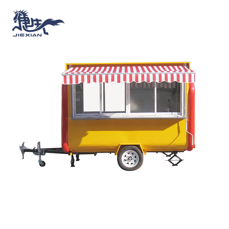 China Outdoor Ice Cream Food Cart Hot Dog Stand JX-FR280H