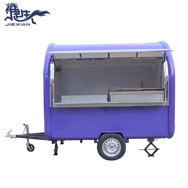 China fast food trucks Trailer Food Concession JX-FR250W