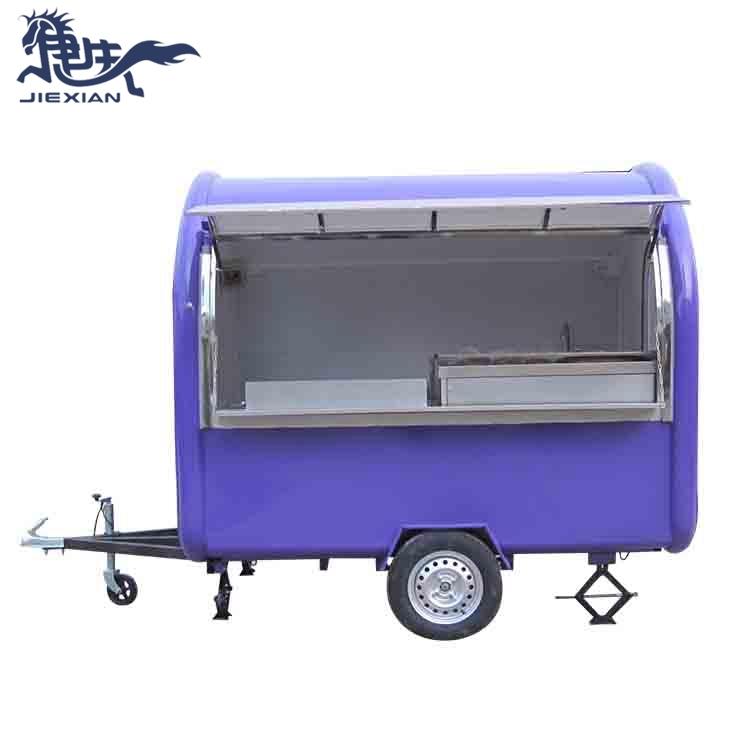 China fast food trucks Trailer Food Concession JX-FR250W