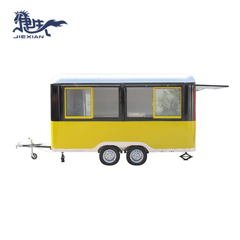 Outdoor Barbecue Trailer food concession trailer JX-FS400R