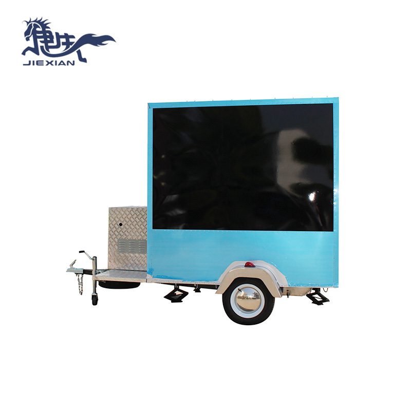 colorful ice cream Mini Food Truck outdoor use design JX-FS210