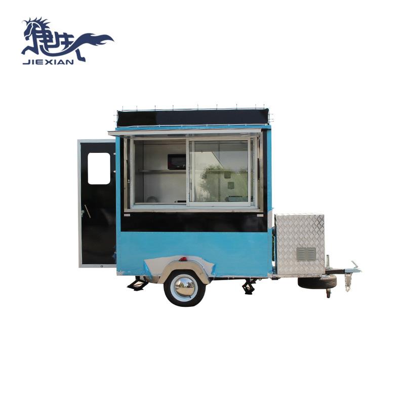 Jiexian Custom homemade smoker trailer manufacturers for mobile business-2