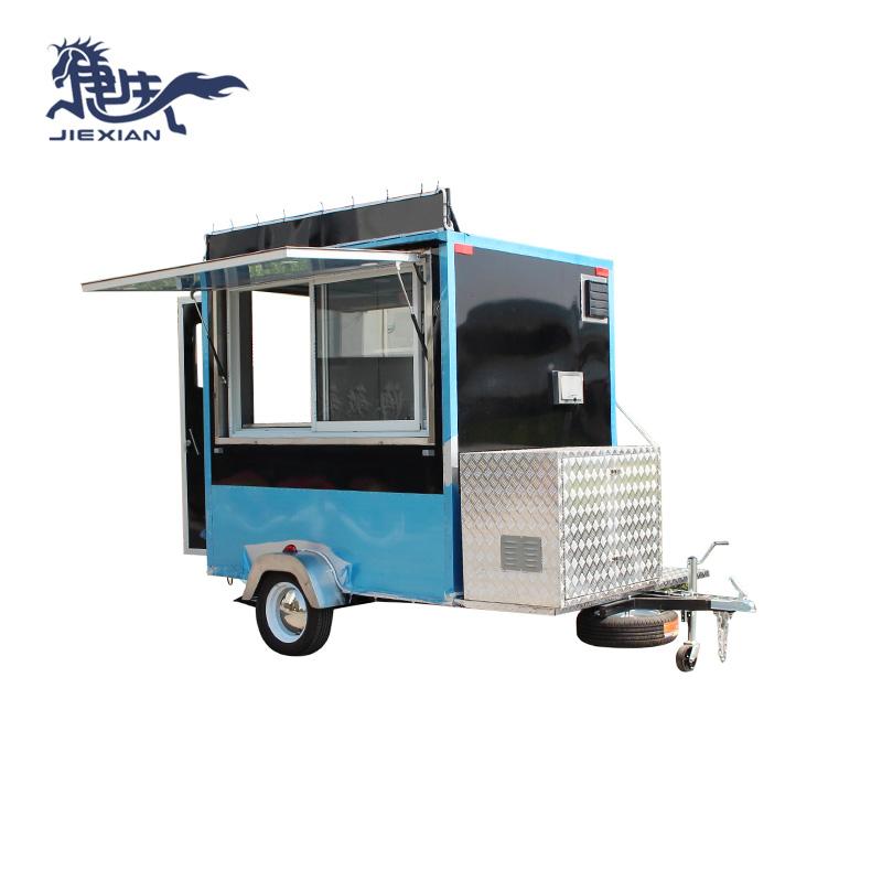 Jiexian Custom homemade smoker trailer manufacturers for mobile business-1