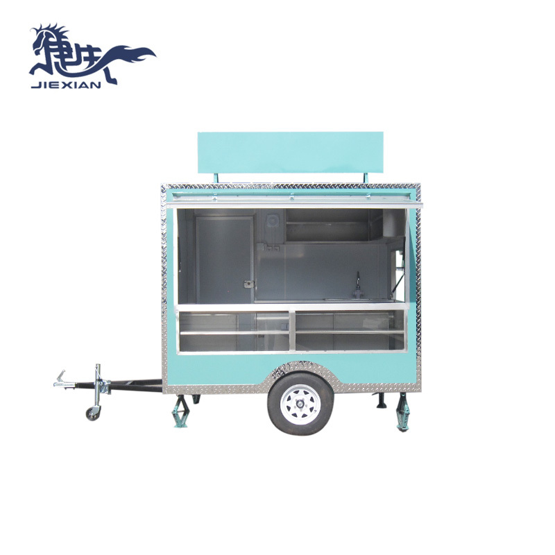 Food Trailers Fast Food Van Snack Mobile Truck JX-FS250