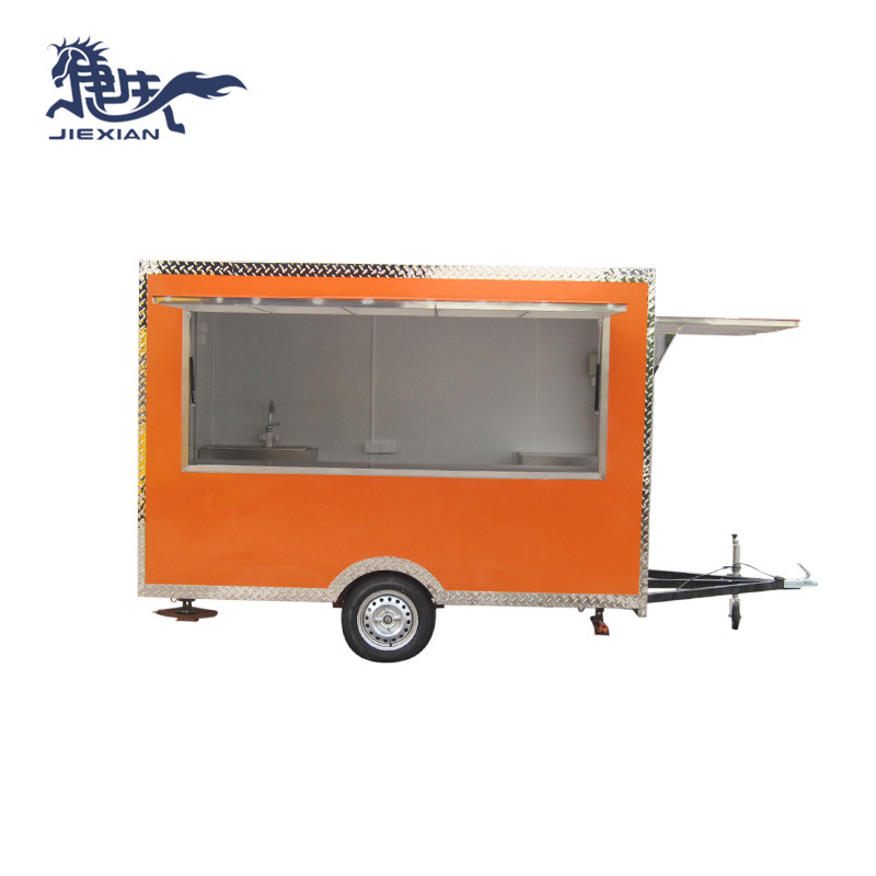 Outdoor Street Selling Churros Mobile Food Trailer JX-FS300