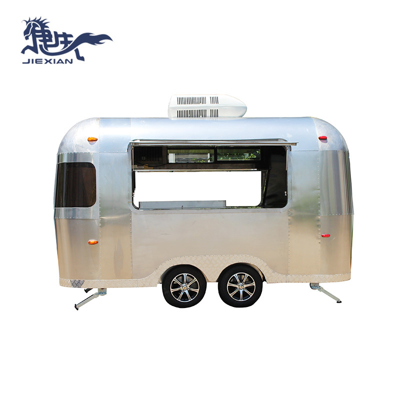 Pizza Food Trailer mobile fried chicken food carts JX-BT380