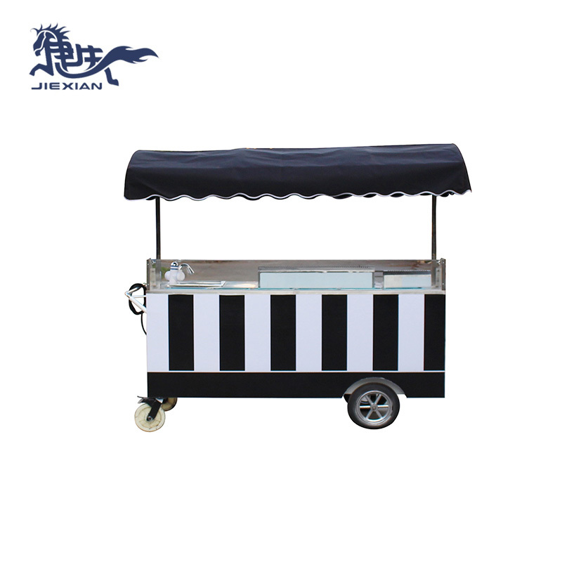 mobile coffee cart & snacks and sweets food cart