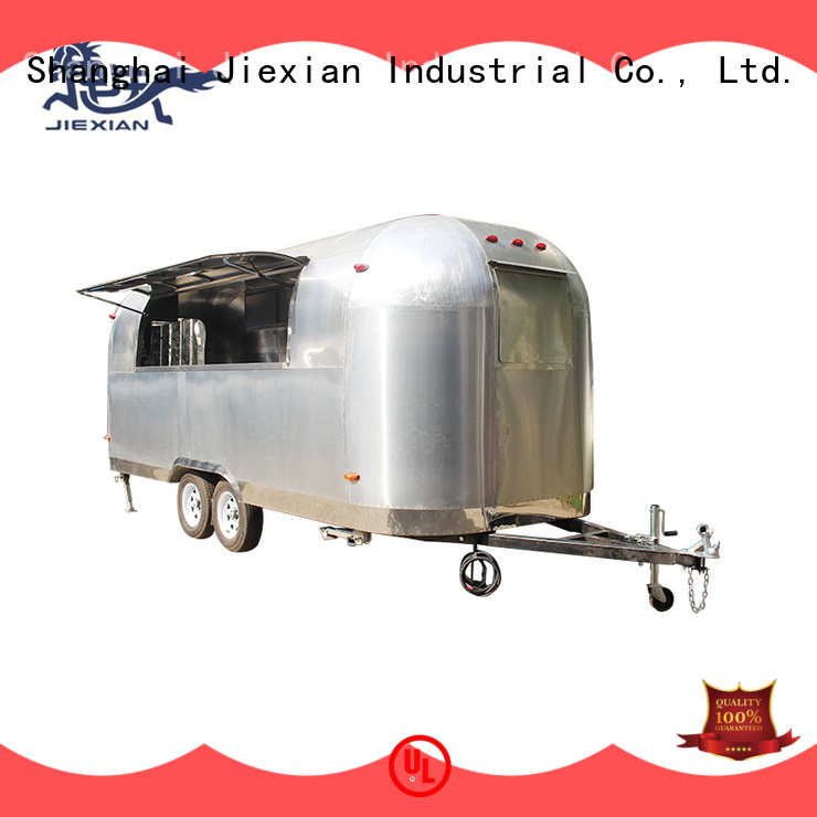 Jiexian Shinny pizza foodtruck factory for selling snake