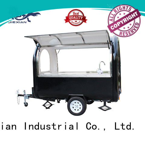 Jiexian oem custom concession trailers factory price for food selling