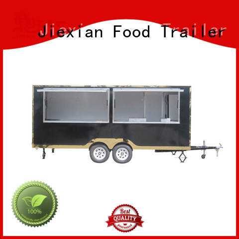 Jiexian custom food trailers customization for mobile business