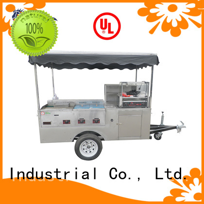 Commercial hot dog cart wholesale for selling hot dog