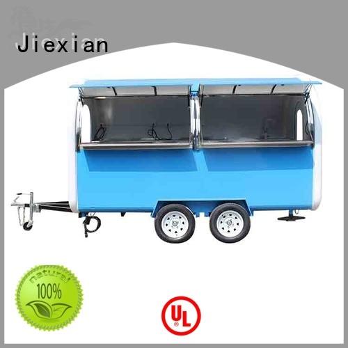 200cm mobile concession trailer nice design for mobile food selling