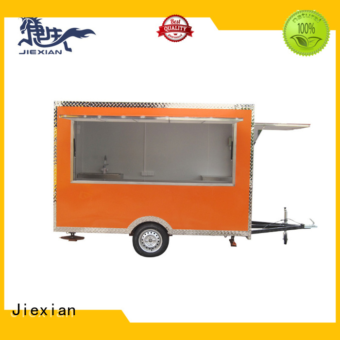 Good materials mobile bbq trailer for barbecue selling