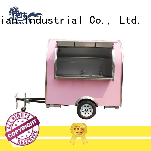 Industrial new concession trailers personalized for trademan