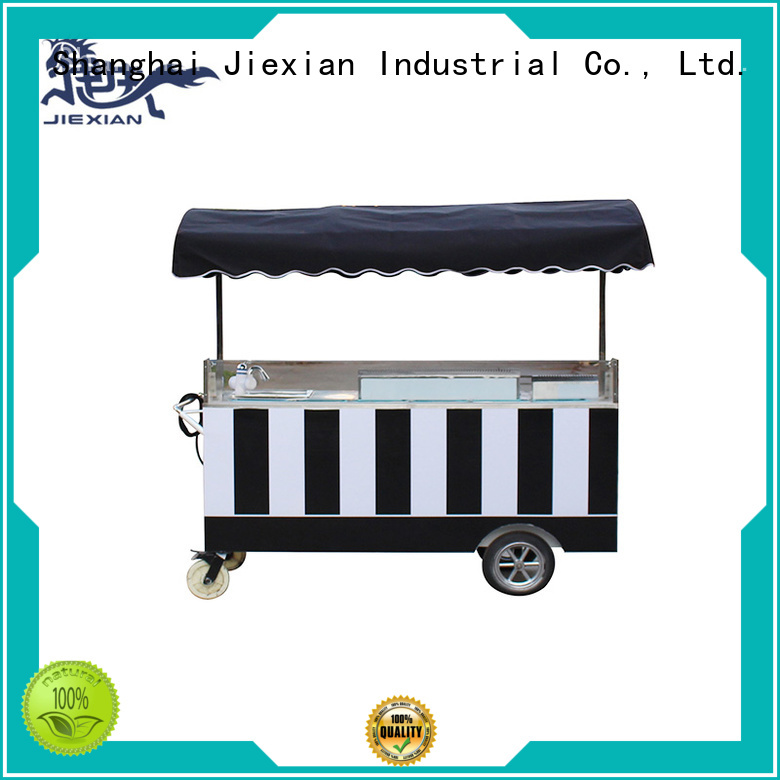 Jiexian high quality coffee trailer directly sale for selling coffee
