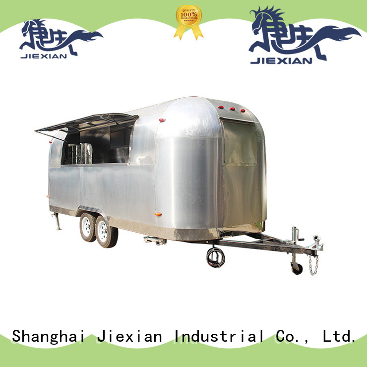Jiexian Shinny mobile pizza truck with good price for selling pizza