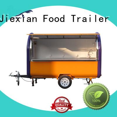 24 foot food trailer