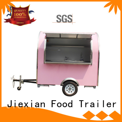 Jiexian new concession trailers factory price for business