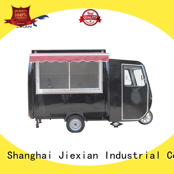 quality-reliable electric food cart factory for trademan