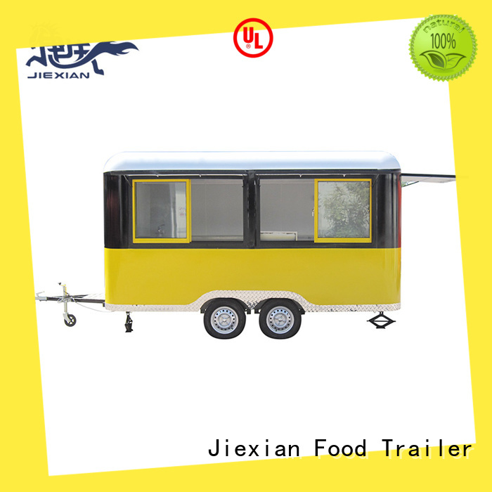 bbq mobile bbq concession trailer with round roof for fast food selling