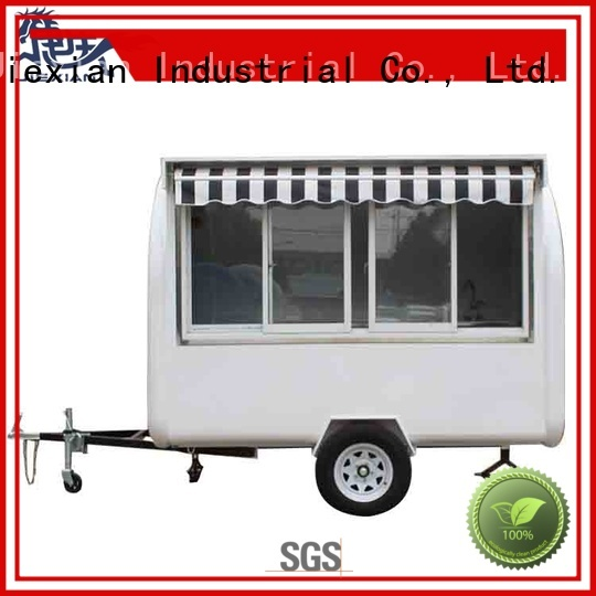 Jiexian concession trailer cheap price for business