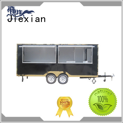 Jiexian bbq concession trailer China manufacturer for bbq selling