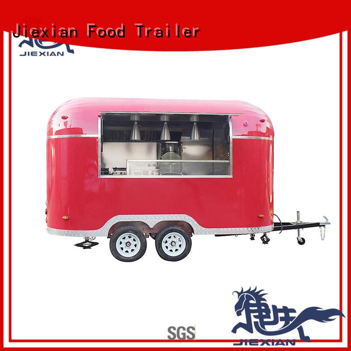 new type hamburger truck series for selling hamburger