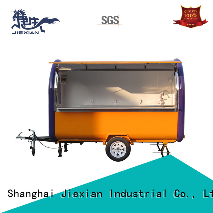 160cm new concession trailers personalized for business