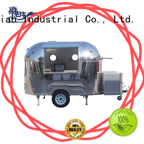 Jiexian Shinny pizza concession trailer design for selling pizza