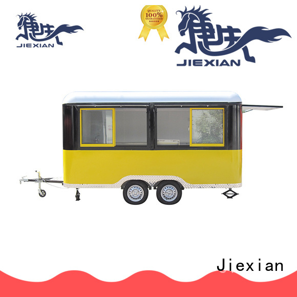 customize bbq concession trailer with smoker with round roof for BBQ trademan
