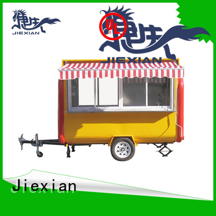 Jiexian new concession trailers company for food selling