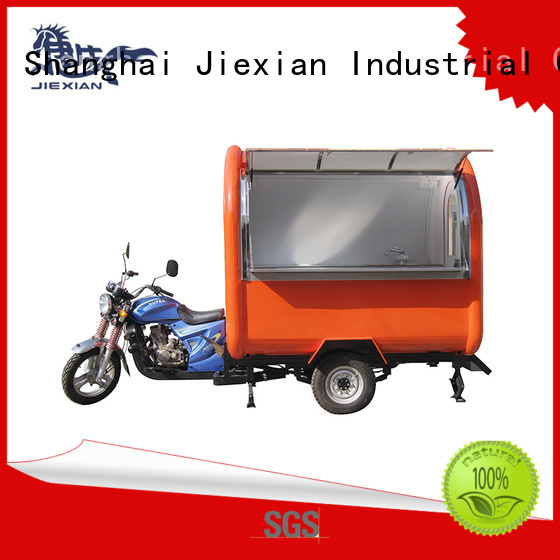 good appearance motor food cart with good price for trademan