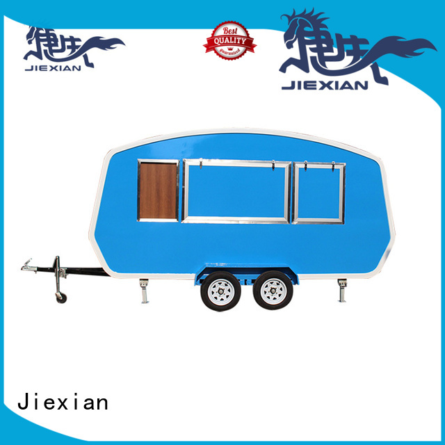 Jiexian new model burger vans directly sale for selling Burger