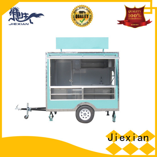 Jiexian competition bbq trailer for bbq selling