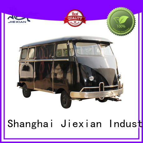 Jiexian new model burger truck from China for selling hamburger