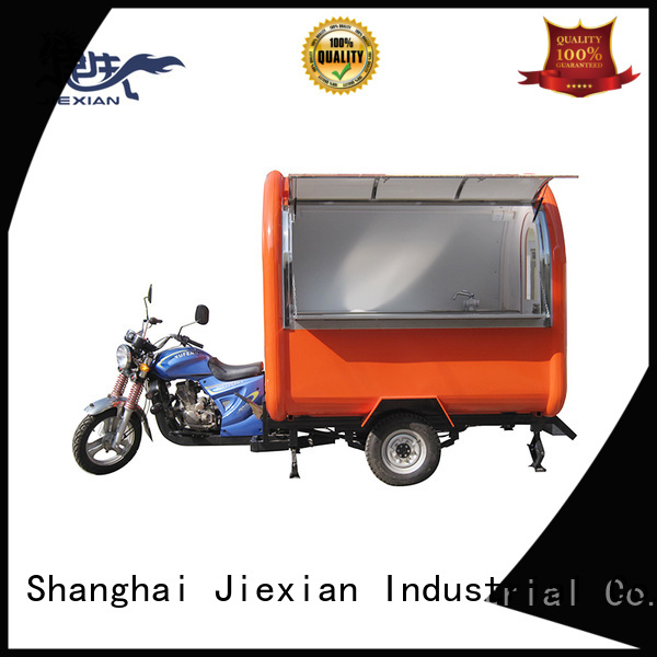 good appearance motorcycle food cart design