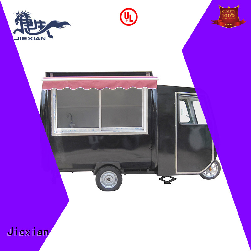 Jiexian modern electric mobile food cart design for trademan