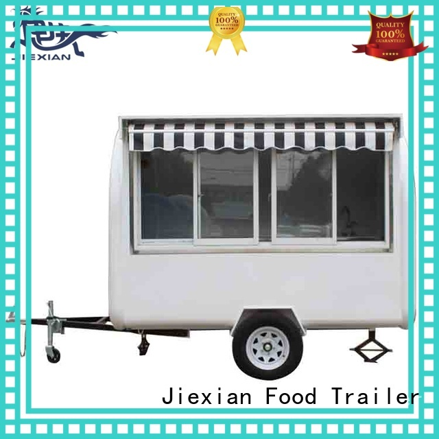Jiexian small concession trailer inquire now for mobile food selling