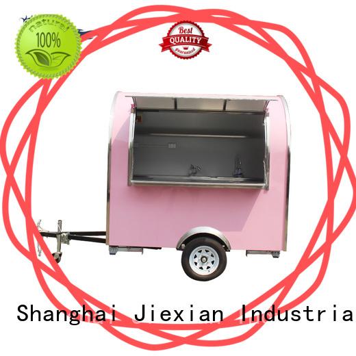 Jiexian 160cm concession trailer bulk for business