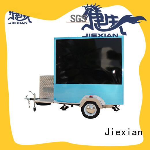 pedal ice cream cart