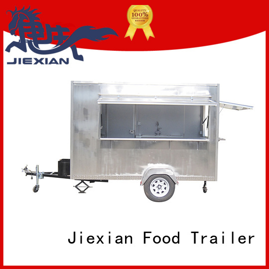 Jiexian Shinny mobile pizza truck factory for business